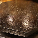 薩摩焼鶏酒場 とり魂 - 桜島溶岩プレート