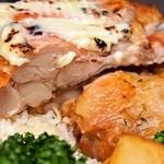 ニューヨークチキングリル - チキンオーバーライス(肉厚なチキン)