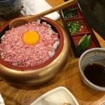 十勝 北海道 浜直活鮮 魚の一心 - 牛とろ丼