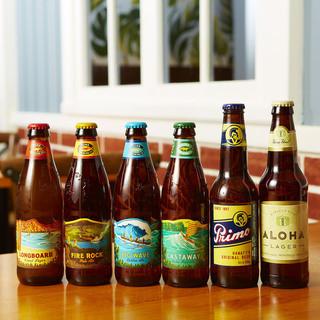 豊富なハワイアンビール&カクテル