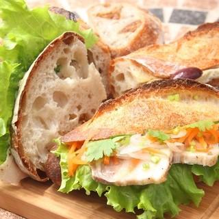 フランス料理人が作るサンドイッチ・惣菜パン