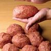 ステーキハウス松木 - 料理写真:ビーフ100%の手ごねハンバーグ