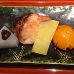 日本料理くりた - 銀ダラ幽庵焼き