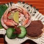 日本料理くりた - 香箱ガニ,内子・外子