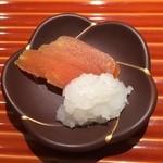 日本料理くりた - 唐墨・大根おろし