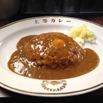 福島上等カレー - カレー&生玉子(600円)