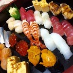 大寿司 - 持ち帰り、お任せ12貫×2