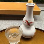 弥助鮨 - 151222 〆張鶴(純米)