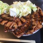 なまらうまいっしょ - 国産バラ豚丼 の なまら盛り ¥1,270(税抜き)