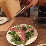 mountee - パルマ産生ハムのサラダ!