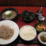 Kitchen萬治郎 - つけめんランチ 980円