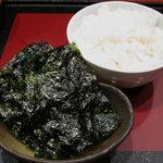 Kitchen萬治郎 - ごはん おかわり可 韓国海苔