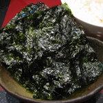 Kitchen萬治郎 - 韓国海苔
