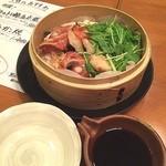 魚や一丁 - 丸ごとキンキの酒蒸し(^_^)
