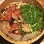 魚や一丁 - 丸ごとキンキの酒蒸しのアップ‼️ 美味いけど食べるところが少ない(^^