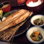 生け簀の甲羅 - ほっけ定食だよ〜