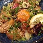 生け簀の甲羅 - 10食限定のまかない丼