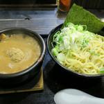 麺屋 らいこう - つけ麺 +ネギトッピング