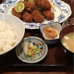 45753266 - カキフライ定食