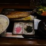 居酒屋 ごいち - 焼きサバ定食(980円・2015/12/22)