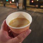 リバティ・ランディング・ダイナー - みそクリームスープ(¥250)