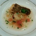45755377 - 鯛とホタテ貝のポアレ
