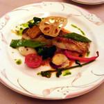 シェモア - 2015/12 真鯛と温野菜のマルセイユソース