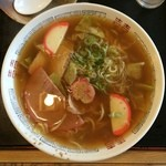 丸岡うどん - 料理写真:中華そば