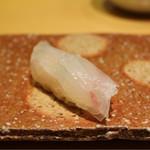 Sushihijikata - 白あまだい昆布締め