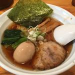 福の神 - 中華そば700円+味玉100円(2015.05)