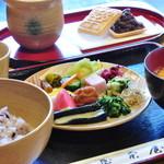 阿古屋茶屋 - お茶漬けバイキング