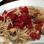 4576549 - あさり・ムール貝・フレッシュトマトの冷スパゲティ