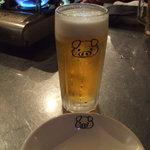 韓豚屋 - 生ビール