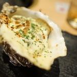 魚バカ 浜料理 厚岸漁業部 祐一郎商店 - チーズ焼き