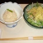45761306 - 卯の花とお豆腐サラダ