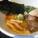 麺s慶 - 柚子醤油ラーメン850円+煮卵100円