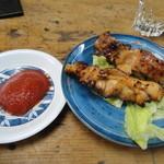 五十鈴 - 鶏肉のトマトソース焼き