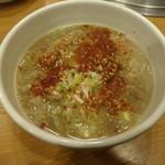 焼肉 門庭 - 牛スジ煮込み:518円