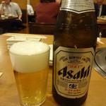 焼肉 門庭 - 瓶ビール:540円