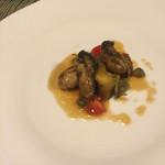 ル クロ - 鳥羽産 牡蠣のムニエル