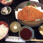 喜多呂 - 特選ロースカツ定食 1,700円