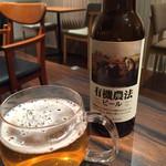 だるまだるま - 151222 有機ビール