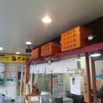 げんまん - 頭上に開化楼の麺箱です!