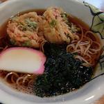 代々木屋 - かき揚げ蕎麦950円