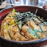 竹屋 - ランチの親子丼