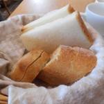45771377 - 1皿目のパン