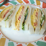 レストラン仏区里屋 - モーニングのサンドイッチ!