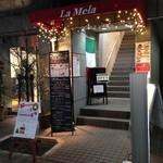 ラ・メーラ - 2015.12月 お店の入口