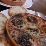 ラ・メーラ - エスカルゴ&牡蠣と白子のフリット