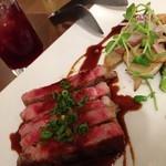 ラ・メーラ - 牛肉のタリアータ